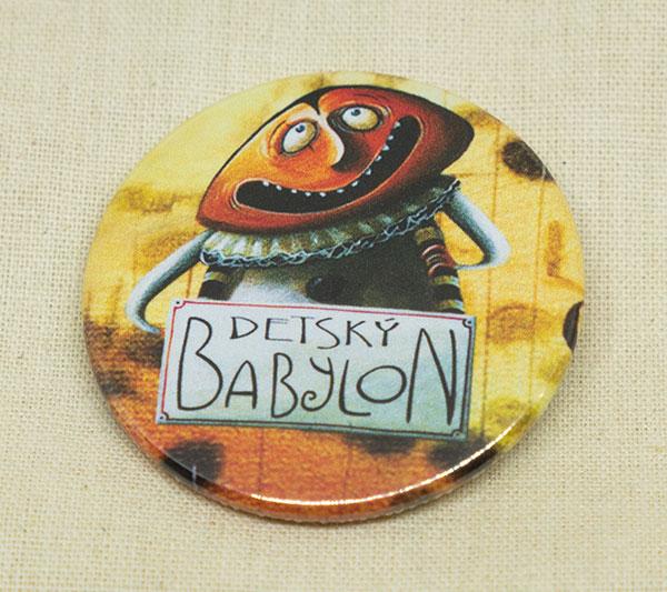 Odznak - Babylončan - oranžový