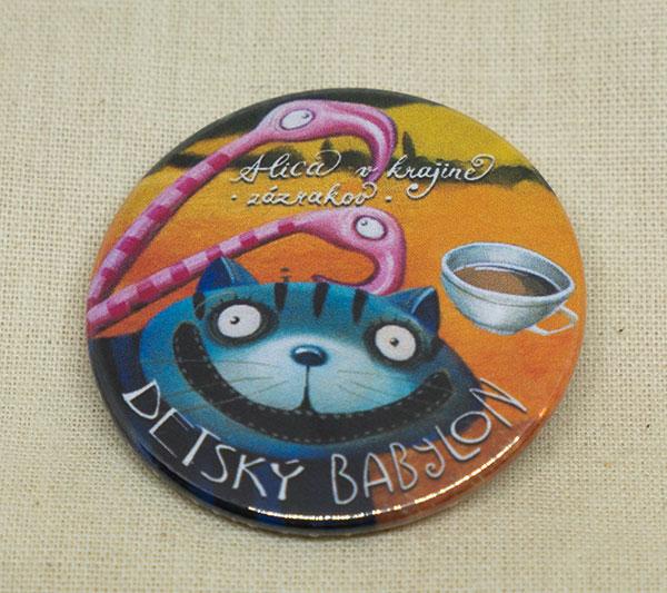 Odznak - Mačka Škľabka